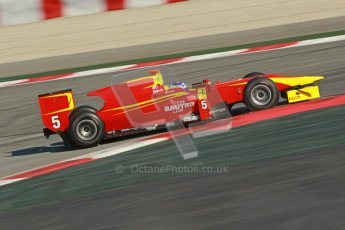 © Octane Photographic Ltd. GP2 Winter testing Barcelona Day 2, Wednesday 7th March 2012. Racing Engineering, Fabio Leimer. Digital Ref : 0236cb1d4664