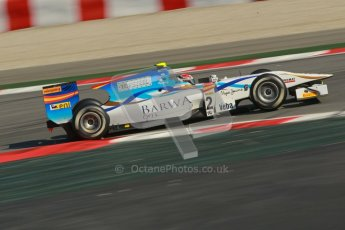 © Octane Photographic Ltd. GP2 Winter testing Barcelona Day 2, Wednesday 7th March 2012. Barwa Addax Team, Josef Kral. Digital ref: 0236cb1d4683