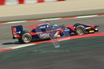 © Octane Photographic Ltd. GP2 Winter testing Barcelona Day 2, Wednesday 7th March 2012. iSport International, Jolyon Palmer. Digital Ref : 0236cb1d4736