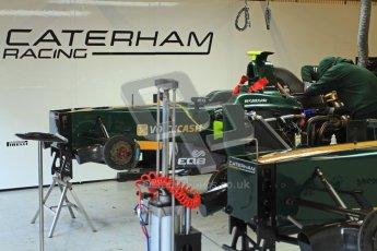 © Octane Photographic Ltd. GP2 Winter testing Barcelona Day 2, Wednesday 7th March 2012. Caterham Racing, Rodolfo Gonzales. Digital Ref : 0236cb7d1630