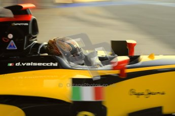 © Octane Photographic Ltd. GP2 Winter testing Barcelona Day 2, Wednesday 7th March 2012. DAMS, Davide Valsecchi. Digital Ref : 0236cb7d1640