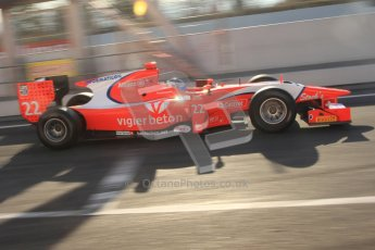 © Octane Photographic Ltd. GP2 Winter testing Barcelona Day 2, Wednesday 7th March 2012. Arden International, Simon Trummer. Digital Ref : 0236cb7d1685
