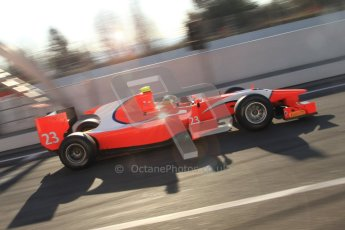 © Octane Photographic Ltd. GP2 Winter testing Barcelona Day 2, Wednesday 7th March 2012. Arden International, Luiz Razia. Digital Ref : 0236cb7d1729
