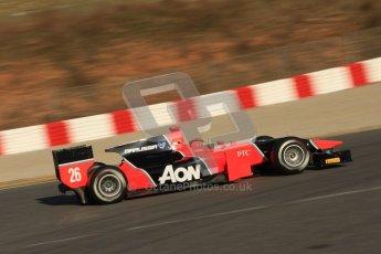 © Octane Photographic Ltd. GP2 Winter testing Barcelona Day 2, Wednesday 7th March 2012. Marussia Carlin, Max Chilton. Digital Ref : 0236cb7d1749