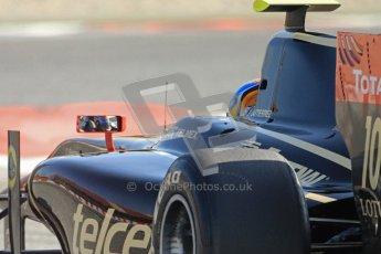© Octane Photographic Ltd. GP2 Winter testing Barcelona Day 2, Wednesday 7th March 2012. Lotus GP, Esteban Gutierrez. Digital Ref : 0236cb7d1976