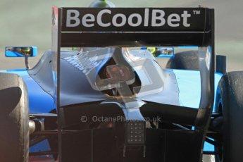 © Octane Photographic Ltd. GP2 Winter testing Barcelona Day 2, Wednesday 7th March 2012. Ocean Racing technology, Nigel Melker. Digital Ref : 0236cb7d2138