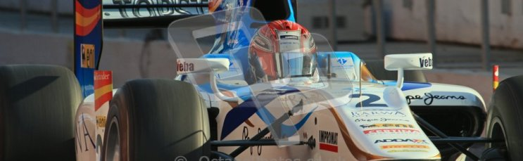 © Octane Photographic Ltd. GP2 Winter testing Barcelona Day 2, Wednesday 7th March 2012. Barwa Addax Team, Josef Kral. Digital ref: 0236lw7d8055