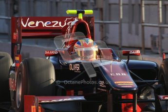 © Octane Photographic Ltd. GP2 Winter testing Barcelona Day 2, Wednesday 7th March 2012. Venezuela GP Lazarus, Giancarlo Senerelli. Digital Ref : 0236lw7d8068