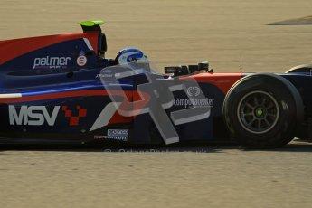 © Octane Photographic Ltd. GP2 Winter testing Barcelona Day 2, Wednesday 7th March 2012. iSport International, Jolyon Palmer. Digital Ref : 0236lw7d8451