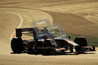 © Octane Photographic Ltd. GP2 Winter testing Barcelona Day 2, Wednesday 7th March 2012. iSport International, Jolyon Palmer. Digital Ref : 0236lw7d8486