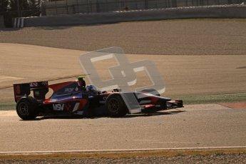 © Octane Photographic Ltd. GP2 Winter testing Barcelona Day 2, Wednesday 7th March 2012. iSport International, Jolyon Palmer. Digital Ref : 0236lw7d8542