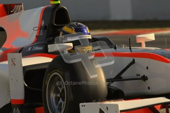 © Octane Photographic Ltd. GP2 Winter testing Barcelona Day 2, Wednesday 7th March 2012. Rapax, Tom Dillman. Digital Ref : 0236lw7d8669