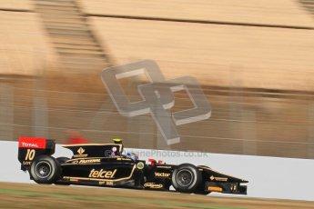 © Octane Photographic Ltd. GP2 Winter testing Barcelona Day 2, Wednesday 7th March 2012. Lotus GP, Esteban Gutierrez. Digital Ref : 0236lw7d9001