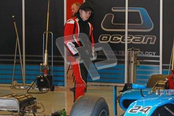© Octane Photographic Ltd. GP2 Winter testing Barcelona Day 3, Thursday 8th March 2012. Ocean Racing Technology, Jon Lancaster. Digital Ref : 0237cb1d4891