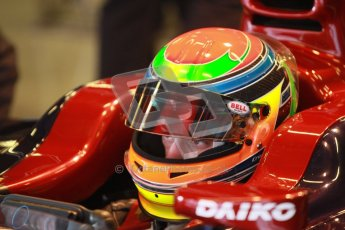 © Octane Photographic Ltd. GP2 Winter testing Barcelona Day 3, Thursday 8th March 2012. Venezuela GP Lazarus, Fabrizio Crestani. Digital Ref : 0237cb1d4964