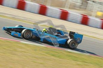 © Octane Photographic Ltd. GP2 Winter testing Barcelona Day 3, Thursday 8th March 2012. Ocean Racing technology, Nigel Melker. Digital Ref : 0237cb1d5532