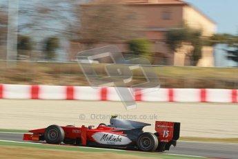 © Octane Photographic Ltd. GP2 Winter testing Barcelona Day 3, Thursday 8th March 2012. Scuderia Coloni, Fabio Onidi. Digital Ref : 0237cb1d5649