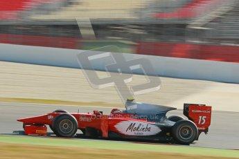 © Octane Photographic Ltd. GP2 Winter testing Barcelona Day 3, Thursday 8th March 2012. Scuderia Coloni, Fabio Onidi. Digital Ref : 0237cb1d5717