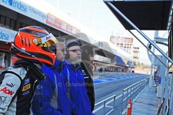 © Octane Photographic Ltd. GP2 Winter testing Barcelona Day 3, Thursday 8th March 2012. Marussia Carlin, Max Chilton. Digital Ref : 0237cb7d2355