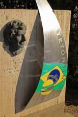 © Octane Photographic Ltd. Ayrton Senna tribute. Digital ref: 0237cb7d2364