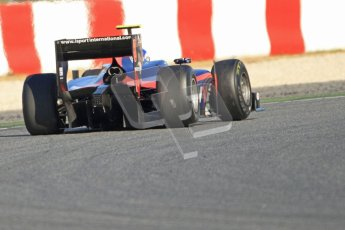 © Octane Photographic Ltd. GP2 Winter testing Barcelona Day 3, Thursday 8th March 2012. iSport International, Jolyon Palmer. Digital Ref : 0237cb7d2477