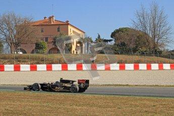 © Octane Photographic Ltd. GP2 Winter testing Barcelona Day 3, Thursday 8th March 2012. Lotus GP, Esteban Gutierrez. Digital Ref : 0237cb7d2557