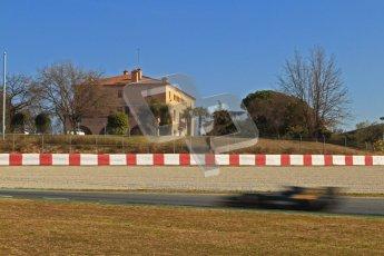 © Octane Photographic Ltd. GP2 Winter testing Barcelona Day 3, Thursday 8th March 2012. Caterham Racing, Giedo Van der Garde. Digital Ref : 0237cb7d2571