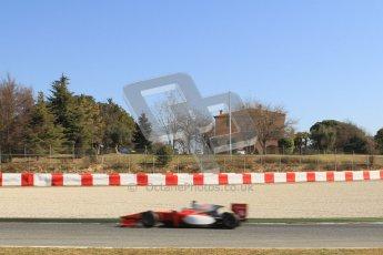© Octane Photographic Ltd. GP2 Winter testing Barcelona Day 3, Thursday 8th March 2012. Scuderia Coloni, Stefano Coletti. Digital Ref : 0237lw7d0089