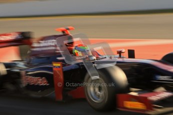 © Octane Photographic Ltd. GP2 Winter testing Barcelona Day 3, Thursday 8th March 2012. Venezuela GP Lazarus, Fabrizio Crestani. Digital Ref :  0237lw7d9502