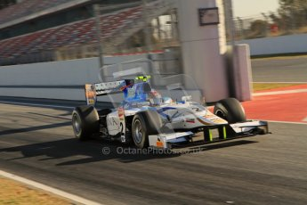 © Octane Photographic Ltd. GP2 Winter testing Barcelona Day 3, Thursday 8th March 2012. Barwa Addax Team, Josef Kral. Digital ref: 0237lw7d9516