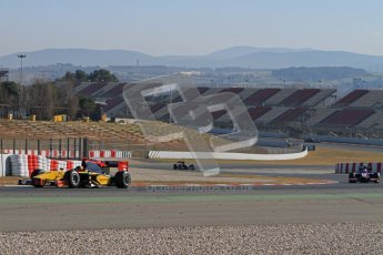 © Octane Photographic Ltd. GP2 Winter testing Barcelona Day 3, Thursday 8th March 2012. DAMS, Davide Valsecchi. Digital Ref : 0237lw7d9542