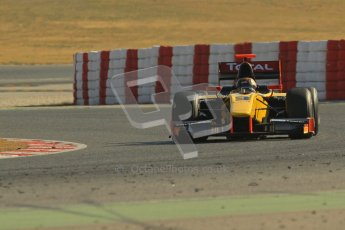 © Octane Photographic Ltd. GP2 Winter testing Barcelona Day 3, Thursday 8th March 2012. DAMS, Davide Valsecchi. Digital Ref : 0237lw7d9641