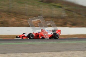 © Octane Photographic Ltd. GP2 Winter testing Barcelona Day 3, Thursday 8th March 2012. Arden International, Simon Trummer. Digital Ref : 0237lw7d9721