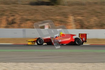 © Octane Photographic Ltd. GP2 Winter testing Barcelona Day 3, Thursday 8th March 2012. Racing Engineering, Nathanael Berthon. Digital Ref : 0237lw7d9734