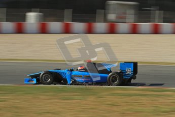 © Octane Photographic Ltd. GP2 Winter testing Barcelona Day 3, Thursday 8th March 2012. Ocean Racing Technology, Jon Lancaster. Digital Ref : 0237lw7d9887
