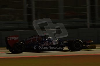 World © Octane Photographic Ltd. F1 USA - Circuit of the Americas - Friday Afternoon Practice - FP2. 16th November 2012. Toro Rosso STR7 - Daniel Ricciardo. Digital Ref: 0558lw1d1893