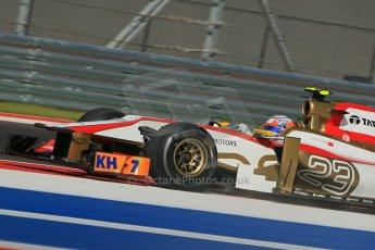World © Octane Photographic Ltd. F1 USA - Circuit of the Americas - Friday Afternoon Practice - FP2. 16th November 2012. HRT F112 - Narain Karthikeyan. Digital Ref: 0558lw1d2126