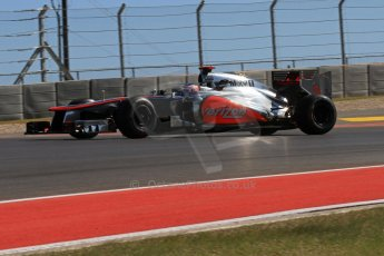 World © Octane Photographic Ltd. F1 USA - Circuit of the Americas - Friday Afternoon Practice - FP2. 16th November 2012. Vodafone McLaren Mercedes MP4/27 - Jenson Button. Digital Ref: 0558lw7d3326