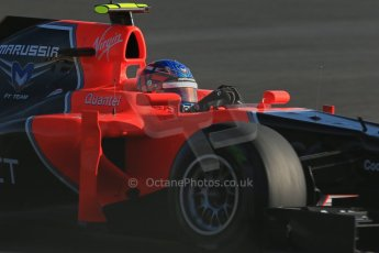 World © Octane Photographic Ltd. F1 USA - Circuit of the Americas - Saturday Morning Practice - FP3. 17th November 2012. Marussia MR02 - Charles Pic. Digital Ref: 0559lw1d2909
