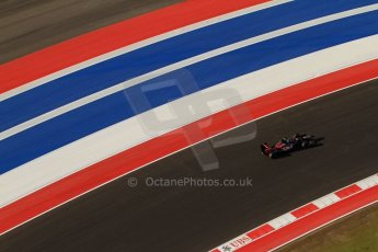 World © Octane Photographic Ltd. F1 USA - Circuit of the Americas - Saturday Morning Practice - FP3. 17th November 2012. Toro Rosso STR7 - Jean-Eric Vergne. Digital Ref: 0559lw7d3768