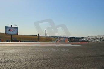 2012 © www.octanephotos.co.uk Circuit of the Americas - Track Walk - Wednesday 14th November 2012 Digital Ref: 0555lw1d0379