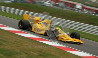 © Carl Jones/Octane Photographic Ltd. 2012. Classic Lotus Festival F1 car demonstation session1  - Brands Hatch, Sunday 19th August 2012. Steve Griffiths, Lotus 101. Digital Ref : 0467CJ7D8486