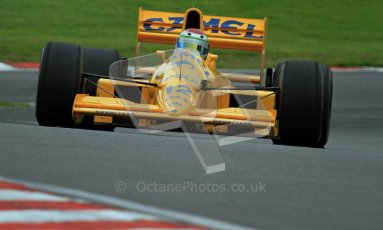 © Carl Jones/Octane Photographic Ltd. 2012. Classic Lotus Festival F1 car demonstation session1  - Brands Hatch, Sunday 19th August 2012. Steve Griffiths, Lotus 101. Digital Ref : 0467CJ7D8503