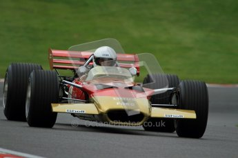 © Carl Jones/Octane Photographic Ltd. 2012. Classic Lotus Festival F1 car demonstation session1  - Brands Hatch, Sunday 19th August 2012. Clive Chapman, Lotus 49B Digital Ref : 0467CJ7D8521