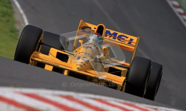 © Carl Jones/Octane Photographic Ltd. 2012. Classic Lotus Festival F1 car demonstation session2  - Brands Hatch, Sunday 19th August 2012. Steve Griffiths, Lotus 101. Digital Ref : 0467cj7d8568
