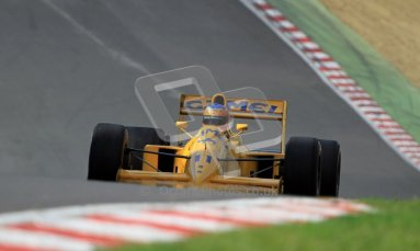 © Carl Jones/Octane Photographic Ltd. 2012. Classic Lotus Festival F1 car demonstation session2  - Brands Hatch, Sunday 19th August 2012. Martin Donnelly, Lotus 102.  Digital Ref : 0467cj7d8596