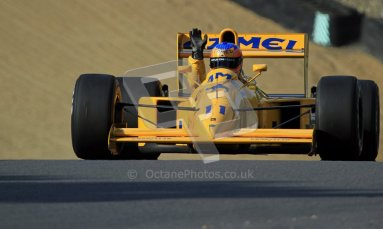 © Carl Jones/Octane Photographic Ltd. 2012. Classic Lotus Festival F1 car demonstation session2  - Brands Hatch, Sunday 19th August 2012. Martin Donnelly, Lotus 102.  Digital Ref : 0467cj7d8645