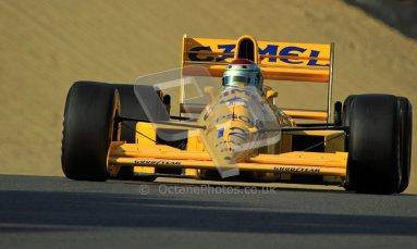 © Carl Jones/Octane Photographic Ltd. 2012. Classic Lotus Festival F1 car demonstation session2  - Brands Hatch, Sunday 19th August 2012. Steve Griffiths, Lotus 101. Digital Ref : 0467cj7d8677