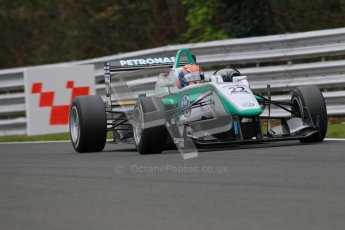 © 2012 Octane Photographic Ltd. Saturday 7th April. Cooper Tyres British F3 International - Race 2. Digital Ref : 0281lw1d3040