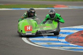 © Octane Photographic Ltd. 2012. NG Road Racing CSC Open F2 Sidecars. Donington Park. Saturday 2nd June 2012. Digital Ref : 0363lw1d9762